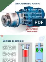 Bombas de Desplazamiento Positivo.