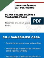 ČAS II- OBLICI DRŽAVNOG UREĐENJA I POLITIČKOG REŽIMA.ppt