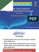 As.tak Tentu_ Slope Deflection _lec 2_aplikasi Pada Balok Menerus