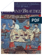 Fernand Braudel - Civilización material, economía y capitalismo, siglos XV-XVIII. vol. 3