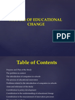 Level of Educational Change Final