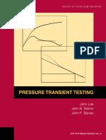Pressure Transient Testing