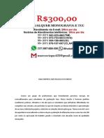 Santos MONOGRAFIA E TCC PARA TODOS OS CURSOS R$300,00