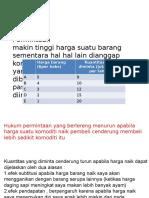 tugas mikro (unsur unsur permintaan dan penawaran ).ppt