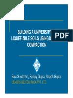 48-Building a University on Liquiable Soils