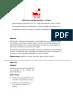 Identificación de Aldehídos y Cetona1