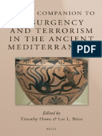 (Brill's Companions in Classical Studies_ Warfare in the Ancient Mediterranean World 1) Timothy Otis Howe, Lee L. Brice-Brill's Companion to Insurgency and Terrorism in the Ancient Mediterranean-Brill