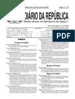 Dec.exec. Nº 77-16_regras e Procedimentos Para a Fixação e Alteração Dos Preços Praticados Nas Diferentes Categorias Do Exercício Da Actividade Económica