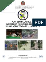 2016 Plan Emergencia y Contingencia 1a. Temporada Lluvias 21abril2016