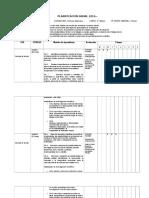Planificación Anual Cs. Naturales 2016