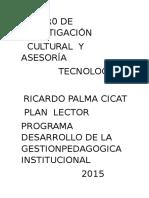 GESTION PEDAGOGICA 2016