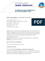 Guidelines Paper