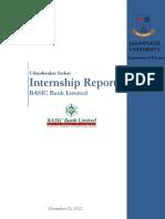 Internship Report Foreign Exchange