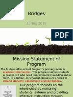 bridges spring 2016 for staff