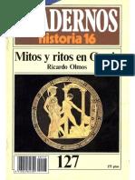 127 Mitos y Ritos en Grecia