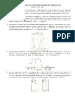 Lista 4 Aplicacoes Da Equacao de Bernoulli