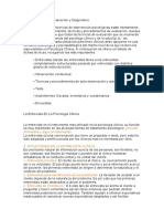 Técnicas de Evaluación y Diagnóstico (1)