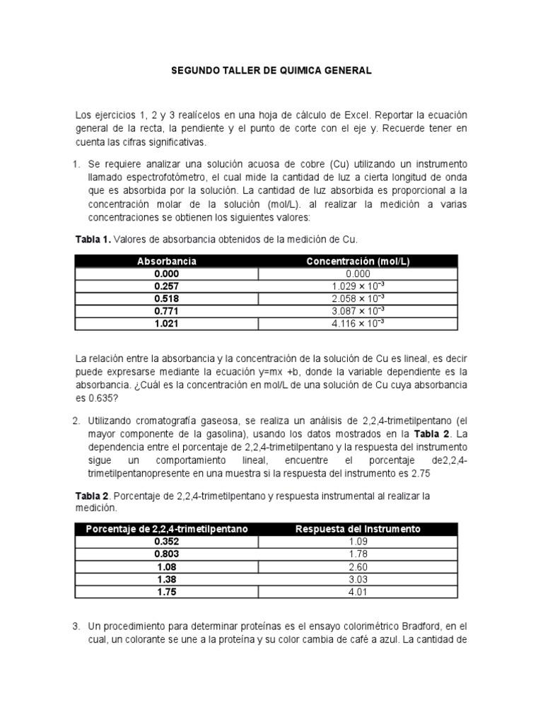 Lujoso Hoja De Cálculo En Moles 1 Componente - hojas de trabajo ...