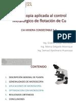 Micrcoscopia Control Metalurgico