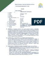 0 Silabo D. Contratos - 2016