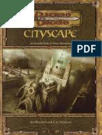 D&D 3.5 Cityscape