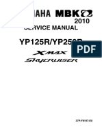 Yamaha X-Max YP250R-YP250R Service Manual