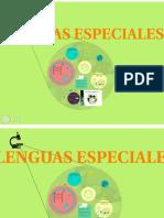 lenguas especiales