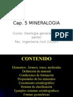 Cap. 5 Mineralogia IC UCSP