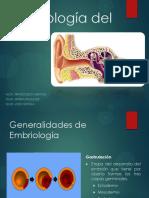 1. Embriología Del Oído
