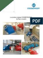 Turbina de flujo cruzado Ossberger