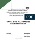 Lenguaje SQL (1) Anny