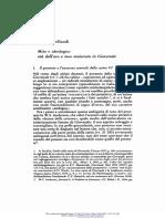 Bellandi-Eta Dell'Oro e Mos Maiorum in Giovenale (MDATC 27 [1991])