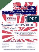 Military Appreciation Night Flyer[1]