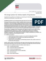 Canterbury Pile Design Supplementary Guidance