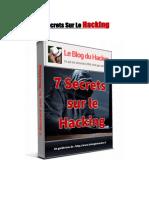 7 Secrets Sur Le Hacking