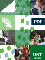 UNT Division of Student Affairs Annual Report | 2014-2015