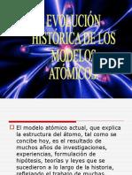 Evolución Histórica de Los Módelos Atómicos