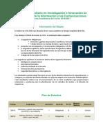 Oferta Academica Investigacion e Innovacion Tics 16-17