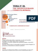 6.- Clase -Influencias Sociocult. en La Conducta