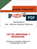 Ley de Arbitraje y Mediación Exponer