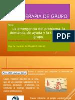 SESION 04  La emergencia del problema y terapia de grupo.pptx