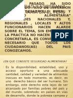 Seguridad y Soberania Alimentaria en El Peru