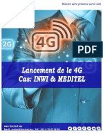 Lancement 4G - Inwi Meditel Analyse Digitale par Forcinet