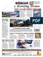 sanilac county front page
