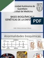 Bases Bioquímicas y Genéticas de La Enfermedad