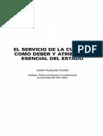 Servicio Cultura Como Atribucion Del Estado