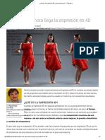 ¿Qué Es La Impresión 4D y Cómo Funciona_ - TLife