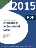 Estadísticas de Seguridad Social 2015