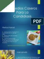 Remedios Caseros Para La Candidiasis
