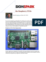 DesignSpark Raspberry Pi b Other Technical 1 En